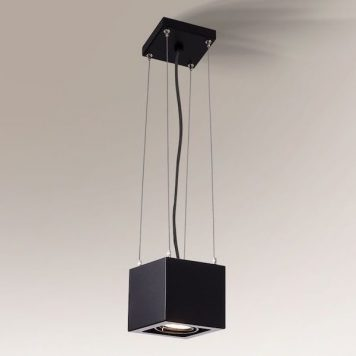 Absoluto Lampa wisząca – kolor Czarny