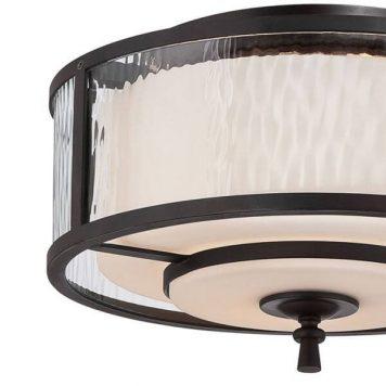 Adonis Lampa sufitowa – klasyczny – kolor beżowy, brązowy
