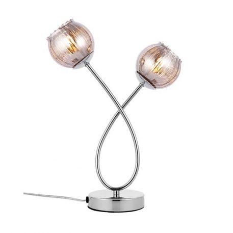 Aerith  Lampa nowoczesna – szklane – kolor srebrny, transparentny, Szary