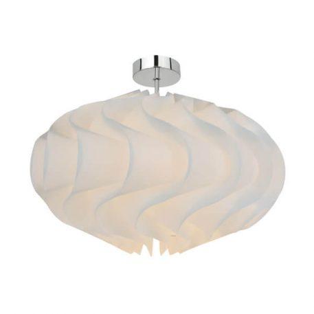 Aggeo Lampa sufitowa – Styl nowoczesny – kolor biały