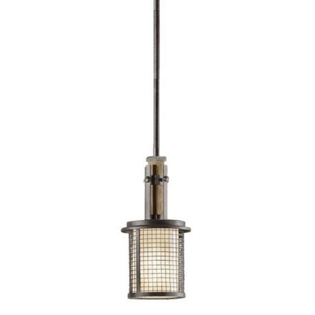Ahrendale Lampa wisząca – klasyczny – kolor beżowy, brązowy