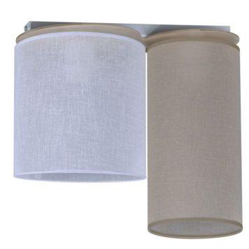 Aida  Lampa sufitowa – Styl nowoczesny – kolor beżowy, biały