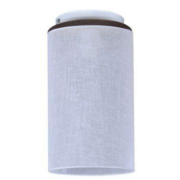 Aida Lampa sufitowa – Z abażurem – kolor biały