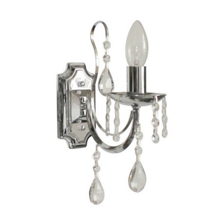 Albi Lampa klasyczna – kryształowe – kolor srebrny