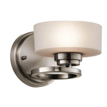 Aleeka Lampa klasyczna – szklane – kolor srebrny