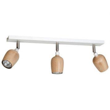 Alf  Lampa sufitowa – Reflektory – kolor biały, brązowy