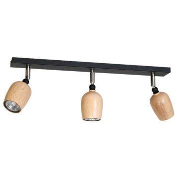 Alf  Lampa sufitowa – Reflektory – kolor brązowy, Czarny