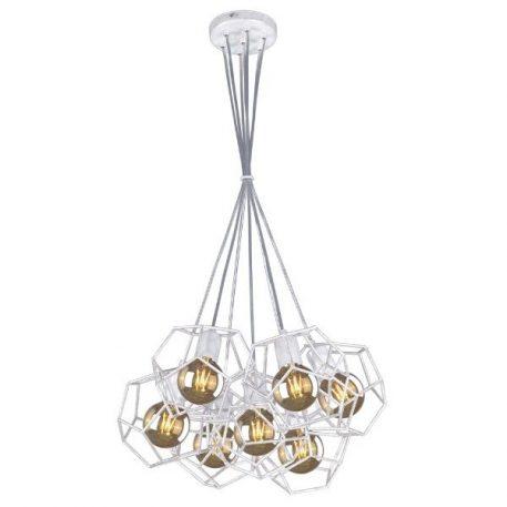 Alicante  Lampa wisząca – Styl nowoczesny – kolor biały, srebrny