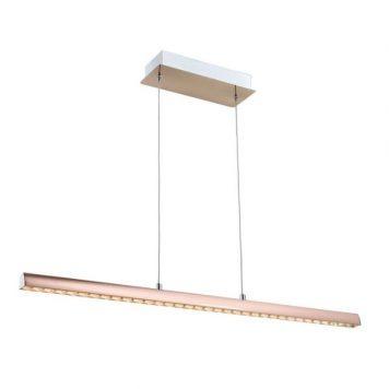 Alikante  Lampa wisząca – Styl nowoczesny – kolor złoty