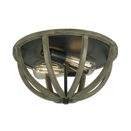 Allier Lampa sufitowa – Plafony – kolor brązowy