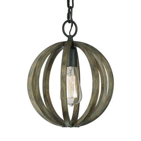 Allier Lampa wisząca – klasyczny – kolor brązowy