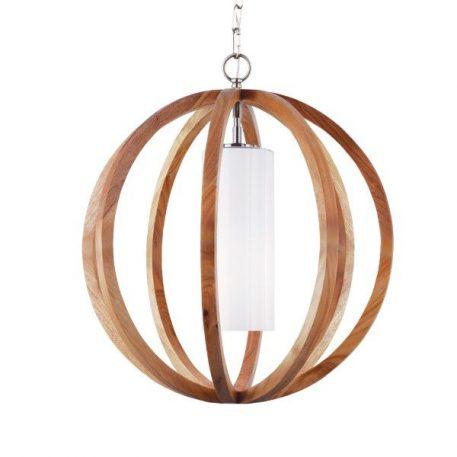 Allier Lampa wisząca – Styl nowoczesny – kolor biały, brązowy