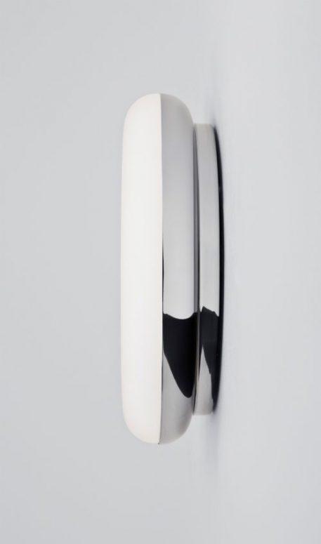 Altea  Lampa sufitowa – szklane – kolor biały, srebrny