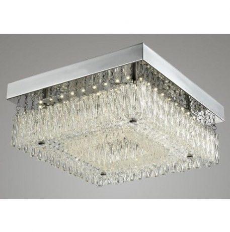 Altra  Lampa LED – kryształowe – kolor srebrny, transparentny