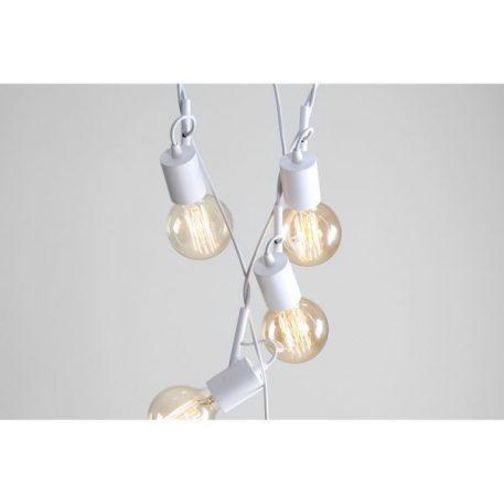 Aluna  Lampa wisząca – Styl nowoczesny – kolor biały