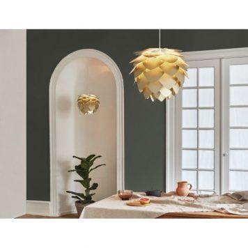 Aluvia  Lampa wisząca – Styl nowoczesny – kolor mosiądz, złoty