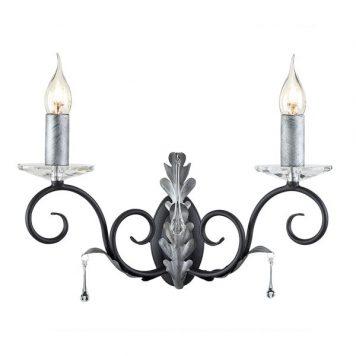 Amarilli Lampa klasyczna – klasyczny – kolor srebrny, Czarny