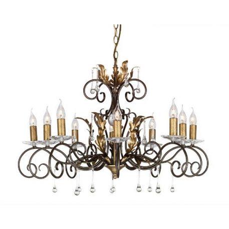 Amarilli Żyrandol – Świecznikowe – kolor brązowy, złoty