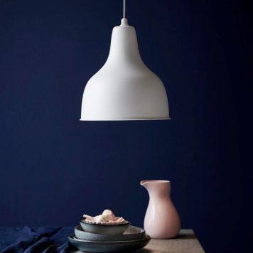 Ames Lampa wisząca – Styl skandynawski – kolor biały