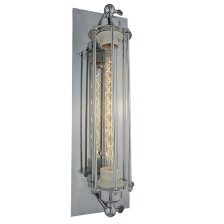 Amsterdam Lampa industrialna – industrialny – kolor srebrny
