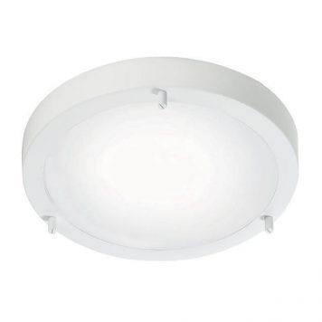 Ancona Lampa sufitowa – szklane – kolor biały