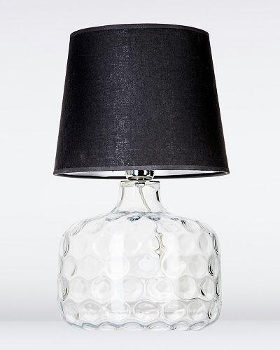 Andorra Lampa nowoczesna – Styl nowoczesny – kolor transparentny, Czarny