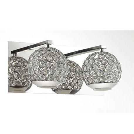 Andrea Lampa glamour – Styl glamour – kolor srebrny