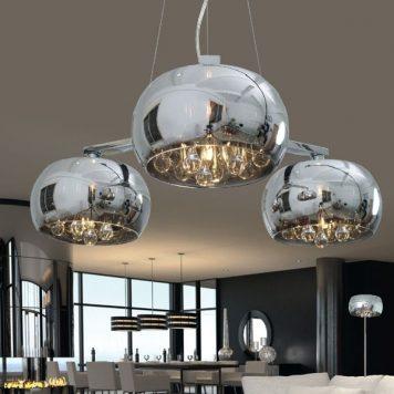 Antenne Lampa wisząca – szklane – kolor srebrny, transparentny