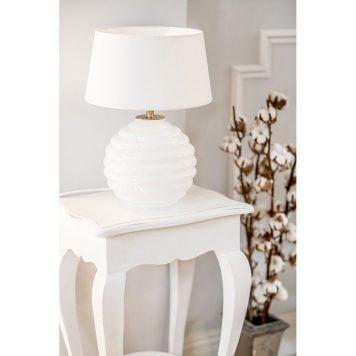 Antibes  Lampa nowoczesna – Styl modern classic – kolor biały