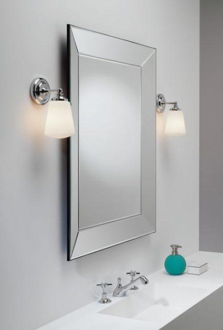 Anton Lampa klasyczna – klasyczny – kolor biały, srebrny