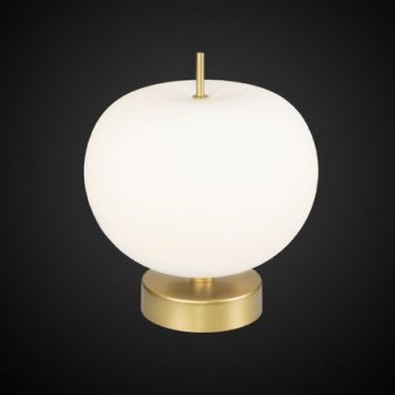 Apple  Lampa nowoczesna – Styl nowoczesny – kolor biały, złoty