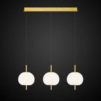 Apple  Lampa wisząca – Styl nowoczesny – kolor biały, złoty
