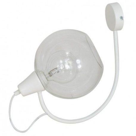 Arbuz  Lampa nowoczesna – szklane – kolor biały, transparentny