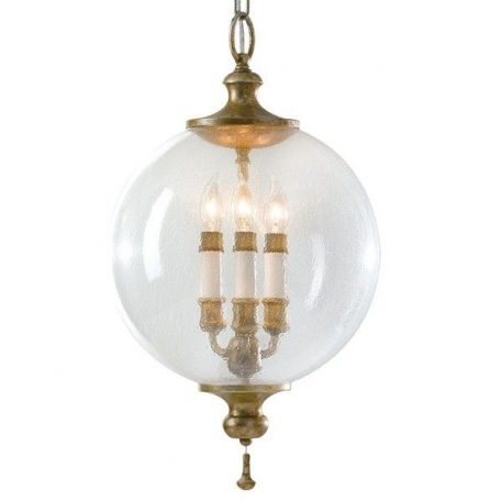 Argento Lampa wisząca – klasyczny – kolor transparentny, złoty