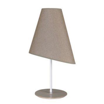 Argos Lampa skandynawska – Z abażurem – kolor beżowy