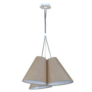 Argos Lampa wisząca – Styl nowoczesny – kolor beżowy