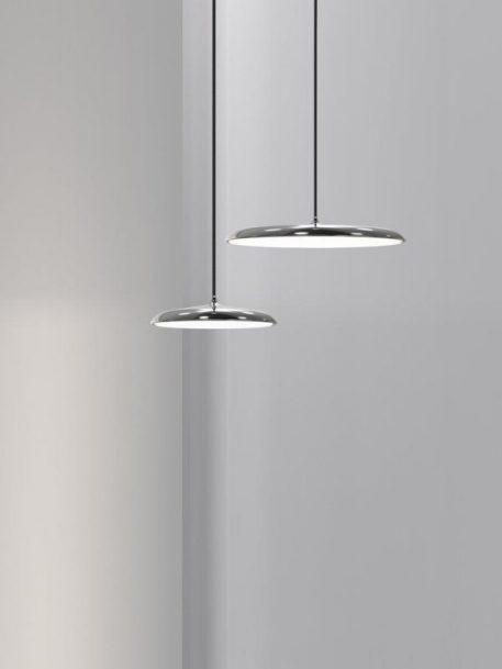 Artist  Lampa wisząca – Styl nowoczesny – kolor srebrny