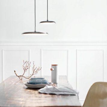 Artist  Lampa wisząca – Styl skandynawski – kolor srebrny