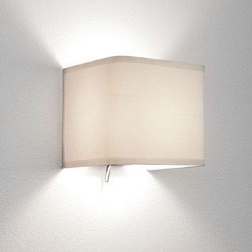 Ashino Lampa nowoczesna – Z abażurem – kolor biały