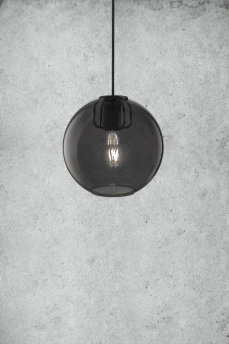 Askja Air  Lampa wisząca – Styl nowoczesny – kolor transparentny, Szary