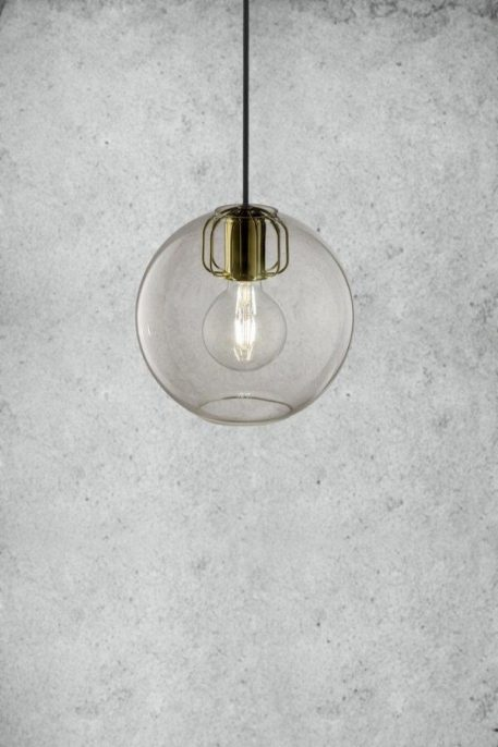 Askja Air Lampa wisząca – Styl skandynawski – kolor transparentny