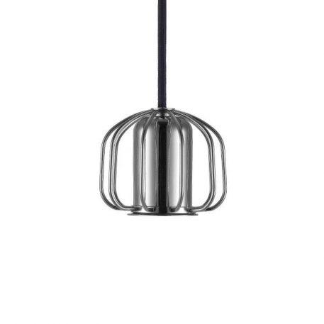 Askja Lampa wisząca – Styl nowoczesny – kolor srebrny