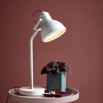 Aslak Lampa stołowa – Biurkowe – kolor biały