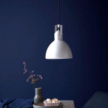 Aslak Lampa wisząca – Styl skandynawski – kolor biały