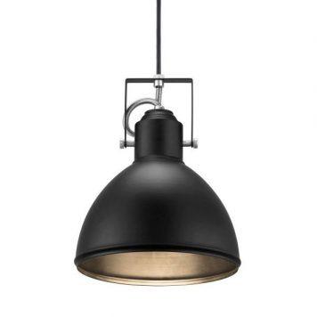 Aslak Lampa wisząca – Styl skandynawski – kolor Czarny