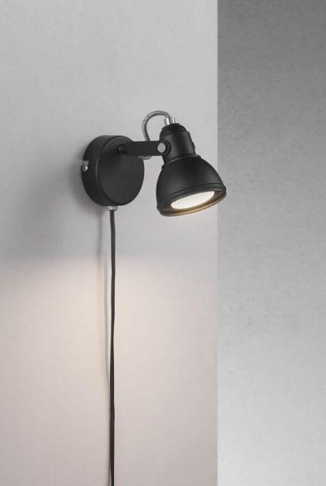 Aslak Reflektor – Styl nowoczesny – kolor Czarny