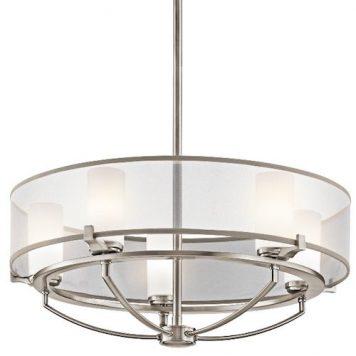 Astoria  Lampa wisząca – Styl nowoczesny – kolor srebrny