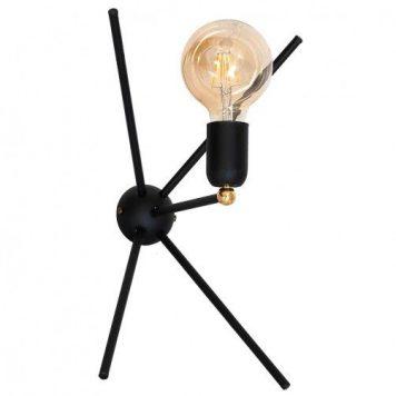 Astra  Lampa nowoczesna – industrialny – kolor Czarny