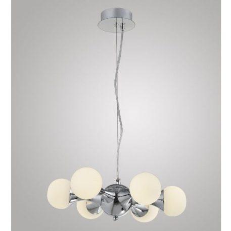 Atomic  Lampa wisząca – szklane – kolor srebrny