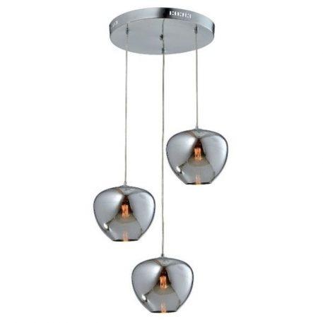 Aura  Lampa wisząca – Styl nowoczesny – kolor srebrny
